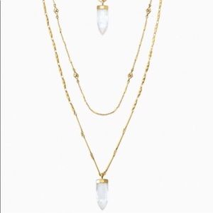 Stella & Dot Aria Pendant Necklace